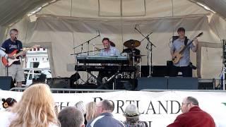 first ever gig on weymouth beach 4/7 11.