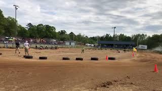 Yard kart racing at MKR MOD heat #4 4/21/18