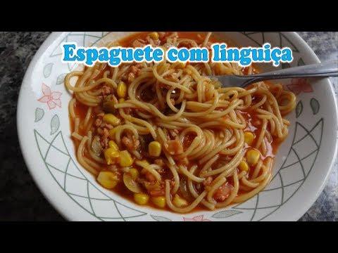 Espaguete Com Linguiça Na Pressão Youtube