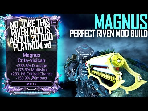 [Warframe] THE PERFECT MAGNUS RIVEN MOD [DE when is magnus prime] thumbnail