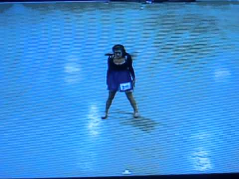 contemporary solo to dancing by Elisa