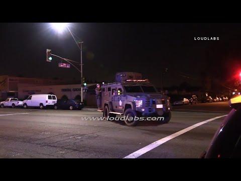 Lasd Standoff Bellflower Raw Footage