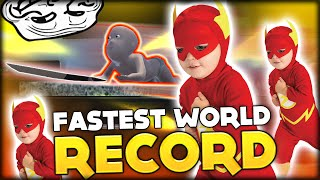 WORLD RECORD: THE FASTEST BABY ALIVE AND THE KEYLOCK GLITCH | WHO'S YOUR DADDY FUNNY MOMENTS #8