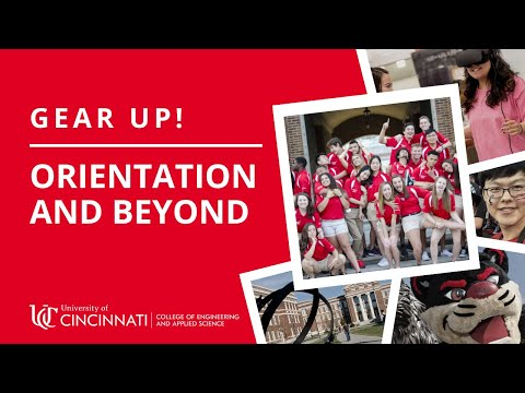 Gearing Up For UC And CEAS | College Of Engineering And Applied Science