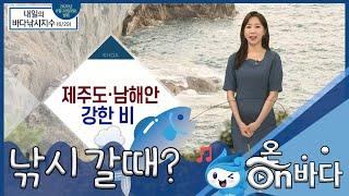 [바다낚시지수] 2020년 6월 29일 제주도·남해안 …
