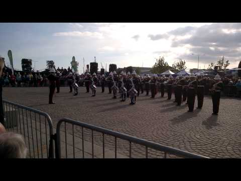 Royal Marines Band at Barclays Boat Show Jersey 3 May 2014