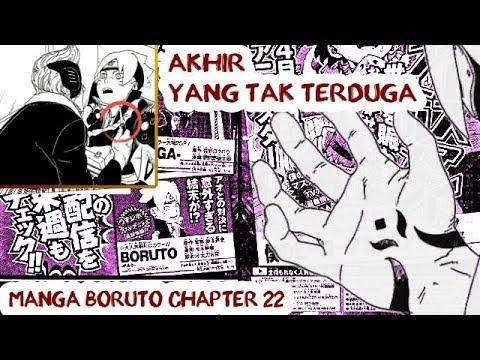 Akhir Pertarungan AO yang TAK TERDUGA | Bocoran Manga Boruto Chapter 22