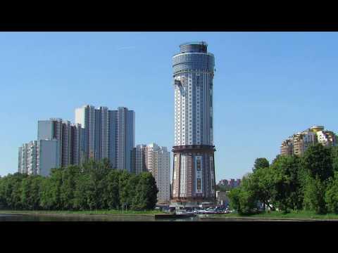 40 этажная Башня-Маяк. Химки, Правый берег.