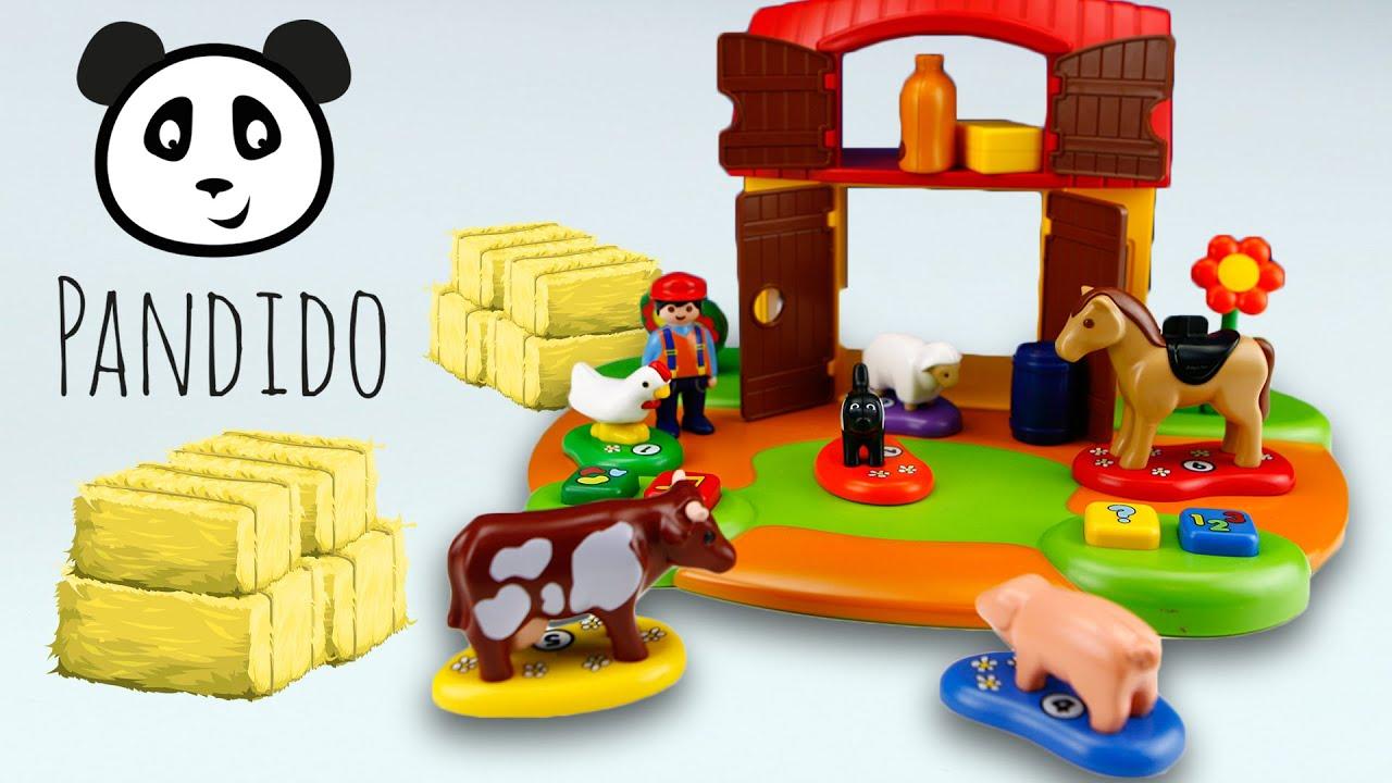 Playmobil interaktiver bauernhof spielzeug ausgepackt