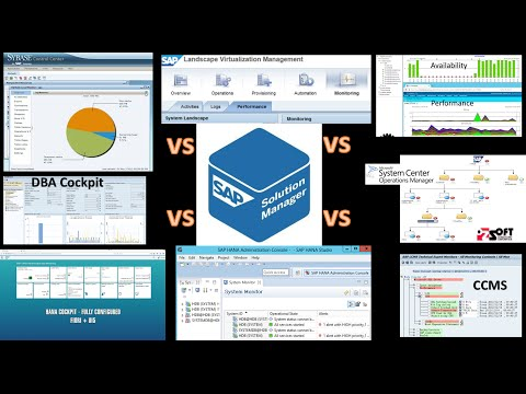 SAP Monitoring Tools Video Overview