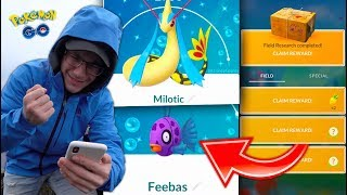 NEW SHINY FEEBAS & MILOTIC IN POKÉMON GO! RANDOM New Event!
