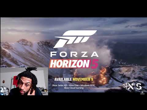 Forza Horizon 5 Official Announce Trailer Johnny Finesse Reaction