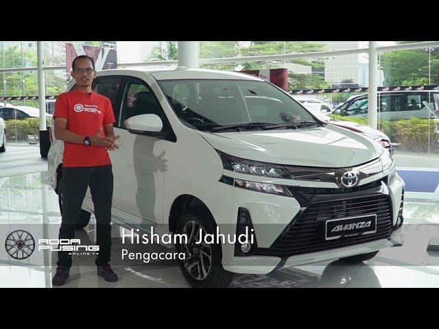 Toyota Avanza 2019 Pengenalan - Roda Pusing Ringkas