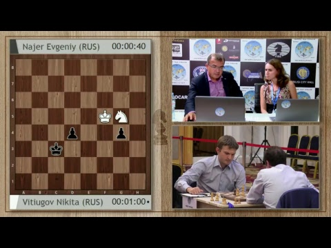 FIDE World Chess Cup 2017 Round 2 Game 1