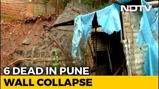 6 Killed After Wall Collapses In College In Pune After Heavy Rain