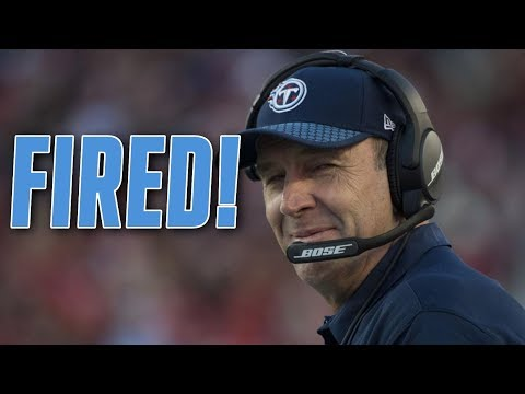 Tennessee Titans FIRE Head Coach Mike Mularkey!