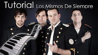 Tan Bionica - Los Mismos De Siempre [Tutorial Piano] | Synthesia