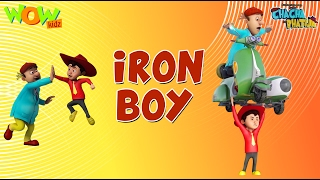 Iron Boy - Chacha Bhatija - Wowkidz - 3D Animation Cartoon for Kids| As seen on Hungama TV