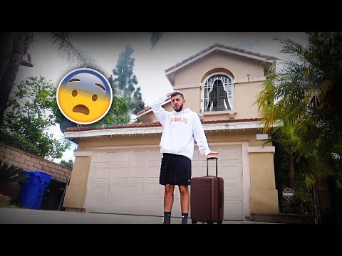 I'M MOVING INTO THE HAUNTED HOUSE! *MY DECISION*