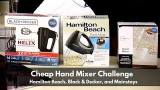 cheap hand mixer challenge hamilton