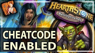ICEBLOCK?? CHEATCODE ENABLED - Hearthstone Battlegrounds