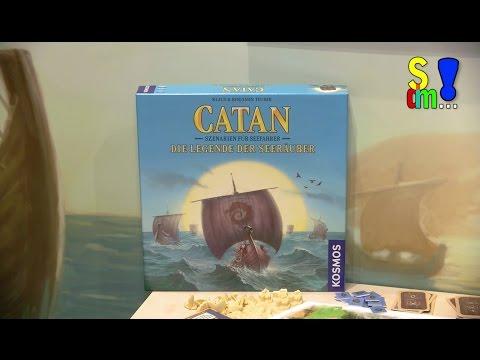 Spiel Doch Mal...! Kurzerklärung CATAN DIE LEGENDE DER SEERÄUBER - Spielwarenmesse 2017