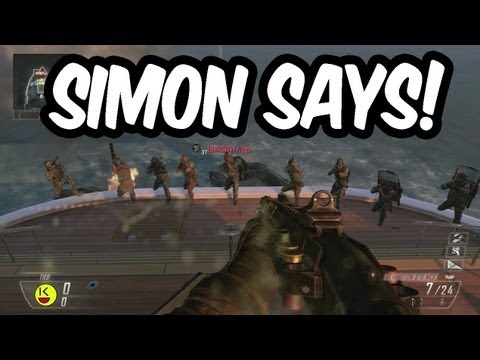 Black Ops 2 - NEW Call of Duty Gametype - SIMON SAYS! (SekC Says)