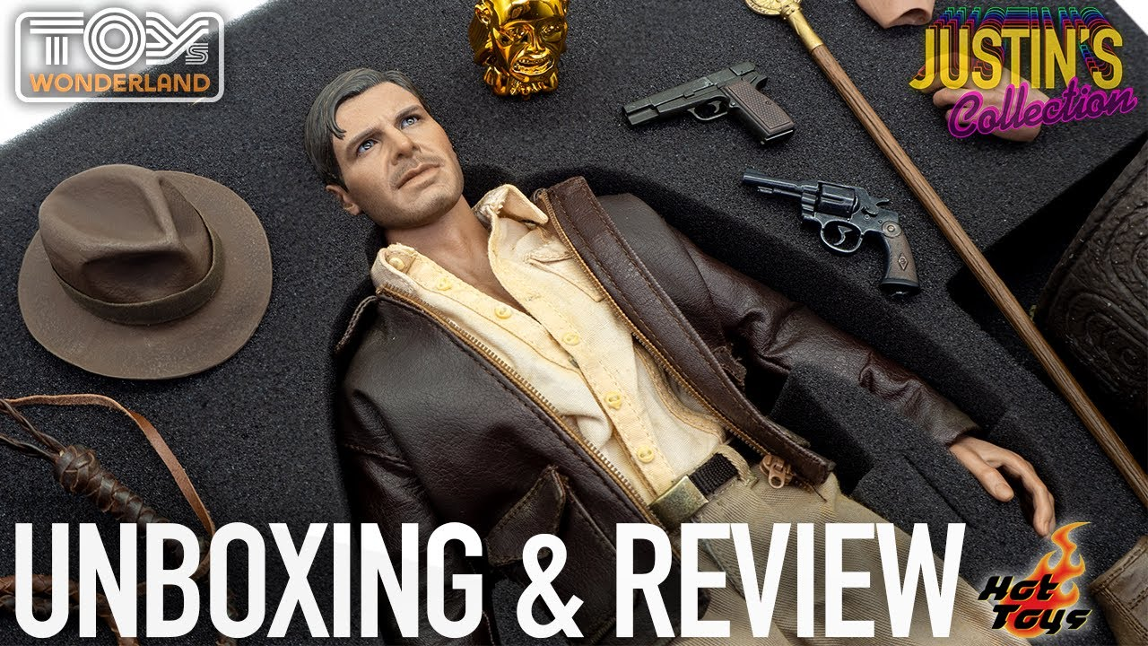 Hot Toys Indiana Jones Raiders of the Lost Ark DX05 Unboxing & Review