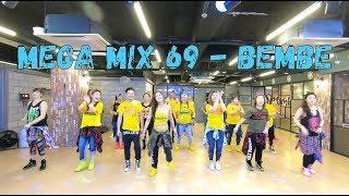 I Love Zumba   Mega Mix69 - Bembe - Salsa-dubstep  메가믹스69 - 살사