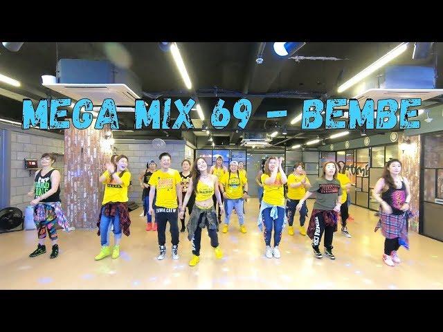 I LOVE ZUMBA / / Mega Mix69 - Bembe - Salsa-Dubstep / 메가믹스69 - 살사