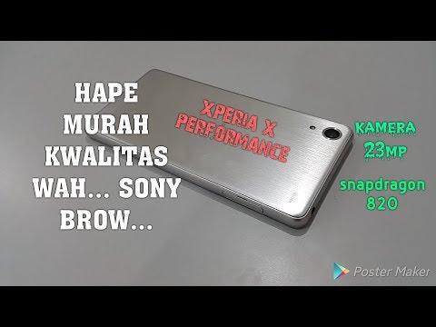 SONY Xperia X performance docomo,unboxing hape batam lagi.gagah hapenya bikin ngiler