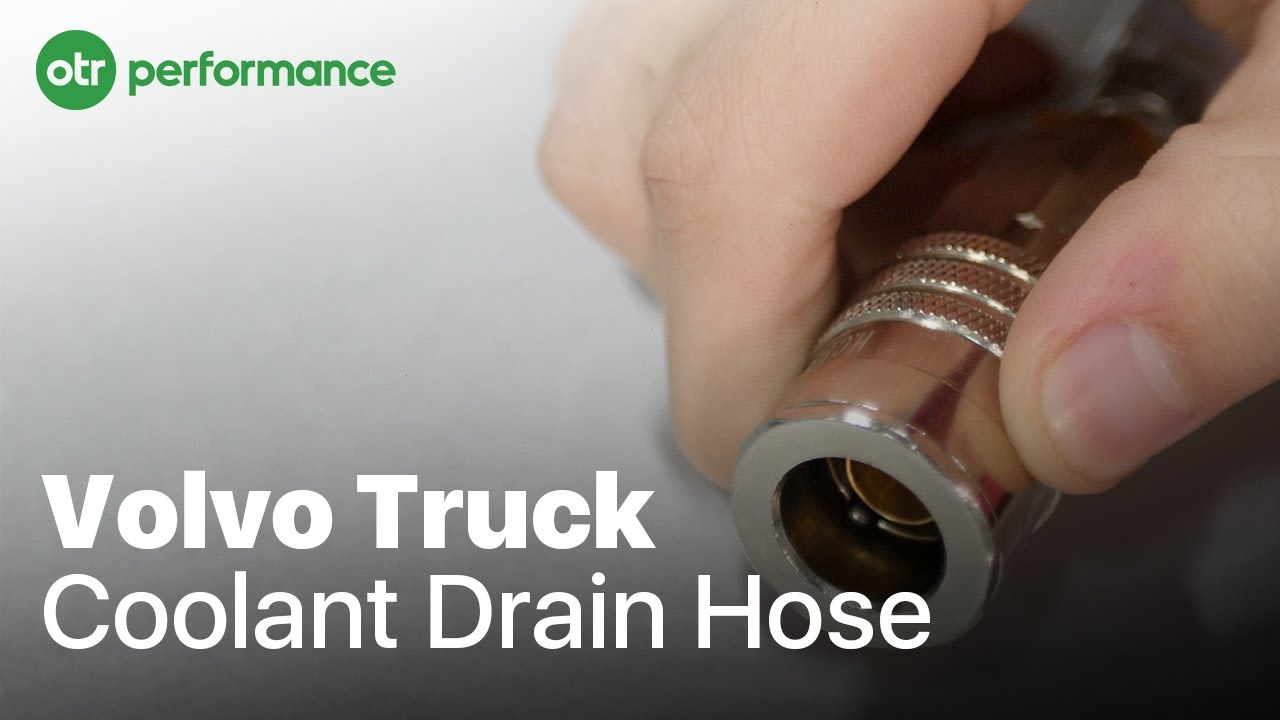 volvo mack truck coolant drain hose learn how to drain d12 d13 volvo mp7 engine head diagram [ 1280 x 720 Pixel ]