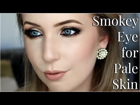 Smokey Eye Makeup for Pale Skin Tips & Tricks Tutorial