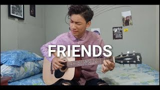 Marshmello & Anne-Marie - FRIENDS - (Fingerstyle Guitar Cover) *OFFICIAL FRIENDZONE ANTHEM*