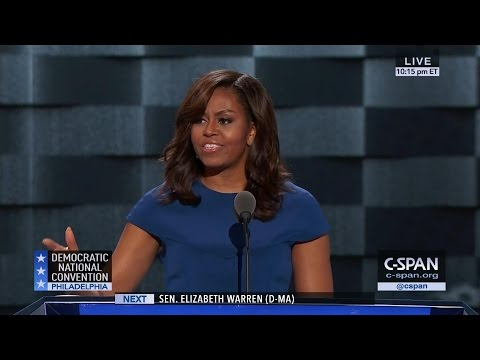 Michelle Obama FULL REMARKS at Democratic National Convention (C-SPAN)
