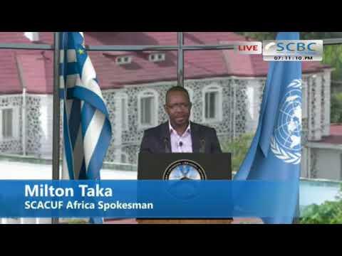 Milton Taka SCACUF Africa Spokesman 07/09/2017 Edition
