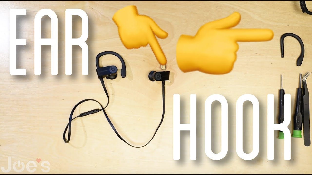 0f342c5dcfd How to Repair PowerBeats 3 Wireless Right Ear Hook Replacement - YouTube