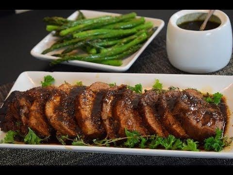 Pork Loin in Apricot Sauce, easy delicious Special Occasion Recipe!