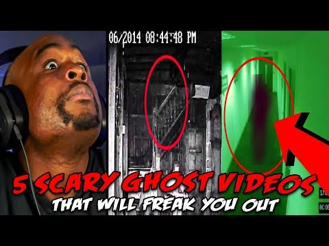 5 Scary Ghost Videos That Will FREAK You Out REACTION!
