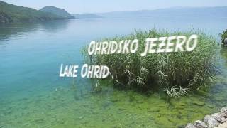Scuba-diving in Lake Ohrid, Macedonia - archeological site