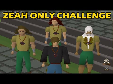 ZEAH ONLY PVP CHALLENGE | Ft. Mudkip, Link and Rargh