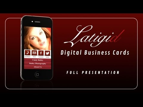 Digital Business Card Presentation