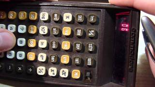 Commodore P-50 Vintage calculaor Overview