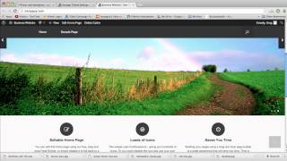 Create a Business Website in WordPress - 2015