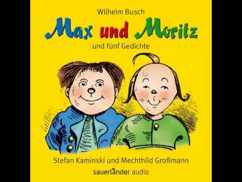 Wilhelm Busch Max Und Moritz Und Fünf Gedichte Youtube
