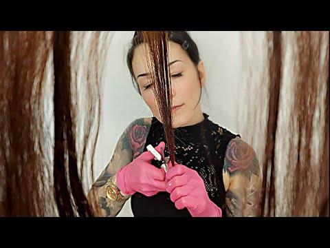 ASMR * Incompetent Hairdresser *