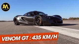 Hennessey Venom GT : plus rapide que Bugatti !