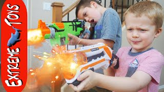 Testing Nerf Gun Toys Star Wars Blasters! The Second Experiment.