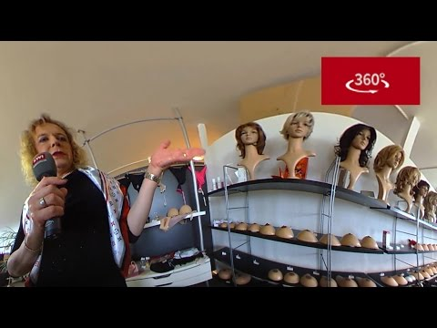 Inside Switzerland's only transgender shop - in 360°