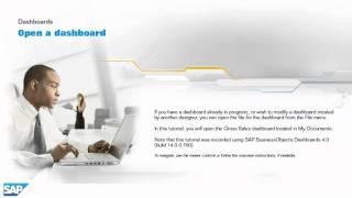 Open a dashboard: Dashboards 4.0
